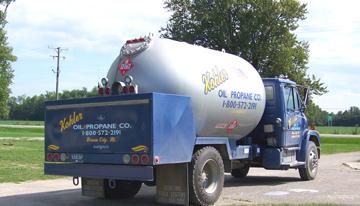 Kohler Propane Truck